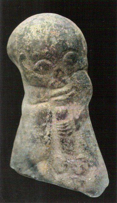 Ithyphallic artifact found at Arras in Northern France, dating from the 4th century CE. Consiste with other NW European images associated with Ingui worship from as early Adam of Breman.